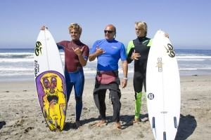 Nike surf lessons 2011 Me,Koa Smith,Nic Von Rupp